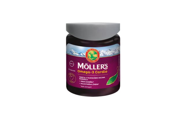 MÖLLER'S OMEGA-3 CARDIO N76