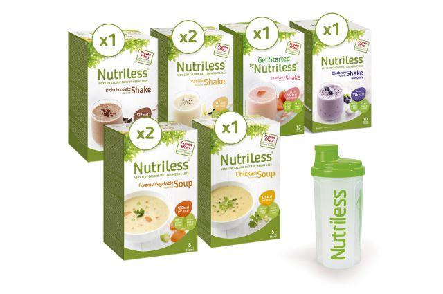 NUTRILESS 10 dienu tievēšanas komplekts