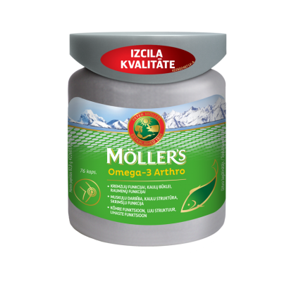 MÖLLER'S OMEGA-3 ARTHRO N76