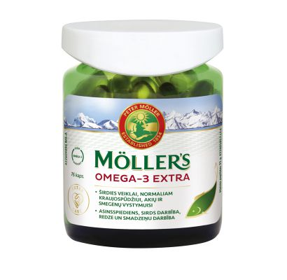 MÖLLER'S OMEGA-3 EXTRA N76