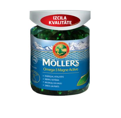 Möller's Omega-3 Magne Active N100