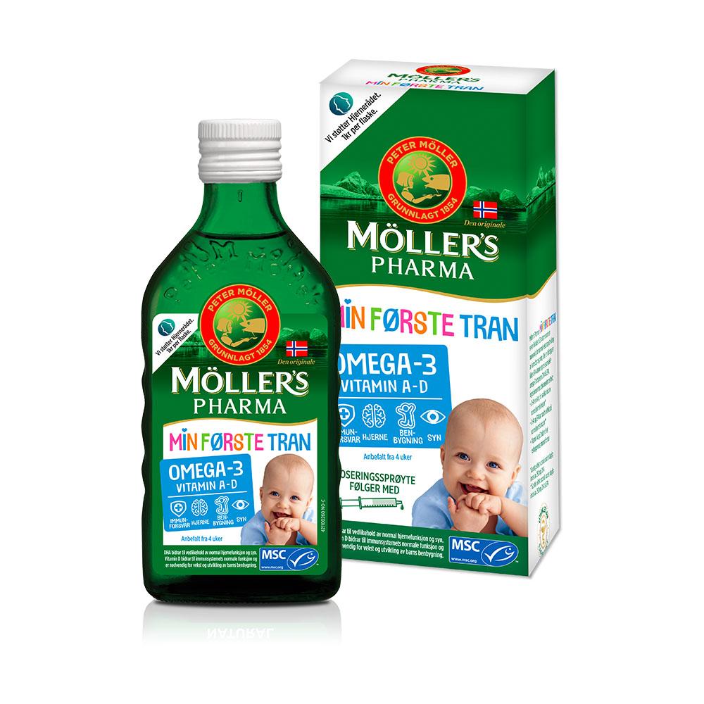 Möller's Baby Mana pirmā Zivju eļļa 250 ml